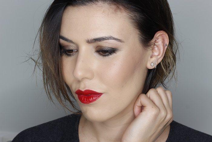 Maquillaje Navidad sexy