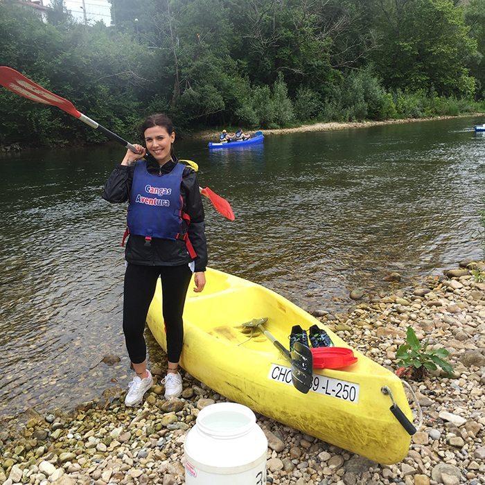 Descenso rio sella Asturias