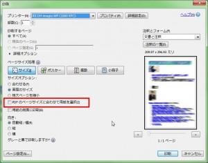 PDFの印刷オプション