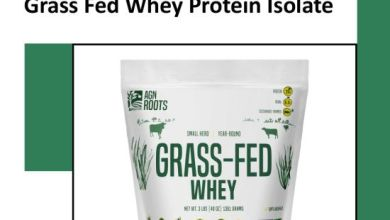 Grass Fed Whey Protein Isolate