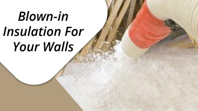 Blown-in Insulation For Your Walls