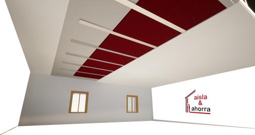 Aislamiento térmico en falsos techos