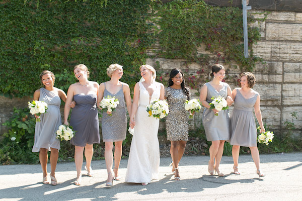 """Happy friends make for happy wedding attendants! Be nice to your friends! © <a href=""""http://christytylerphotography.com/"""" target =""""_blank"""">Christy Tyler Photography</a>"""