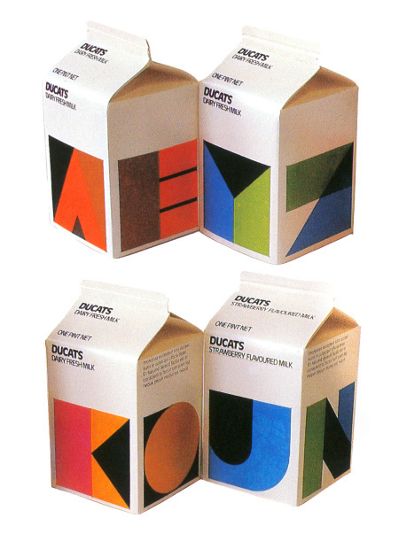 Ducats Milk Packaging