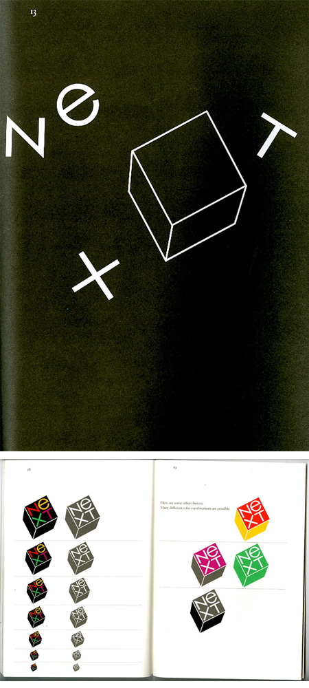 NeXT Logo Proposal Book