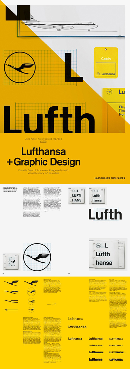 Lufthansa and Graphic Design Visual History of an Airline