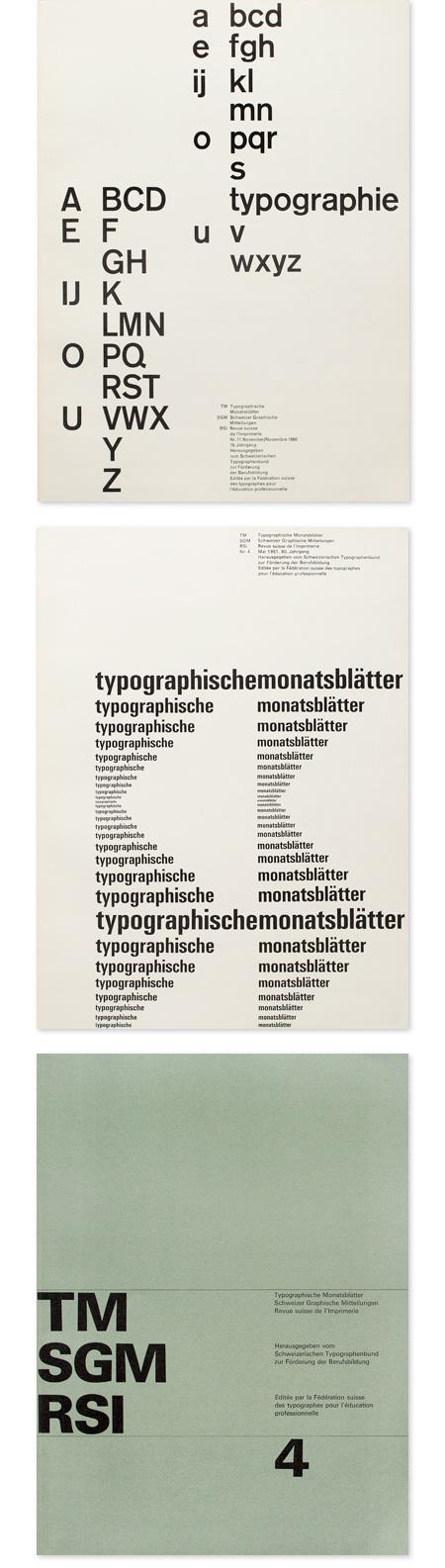Typographische Monatsblatter Research Archive