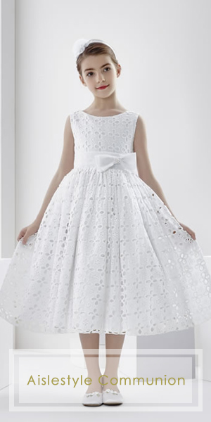 Aislestyle offers the high quality custom-made communion dresses at very low price