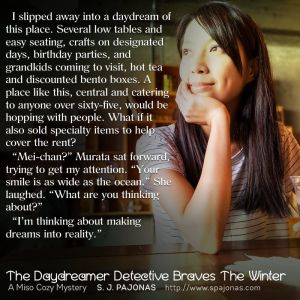 The Daydreamer Detective Braves the Winter Teaser 3