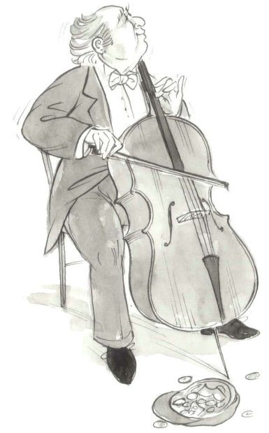 Cello Busker
