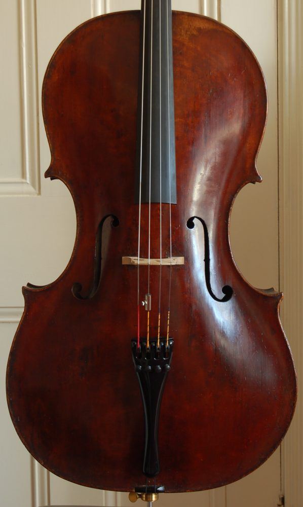 Sell a cello or bow through us - Forster cello sold by Aitchison & Mnatzaganian