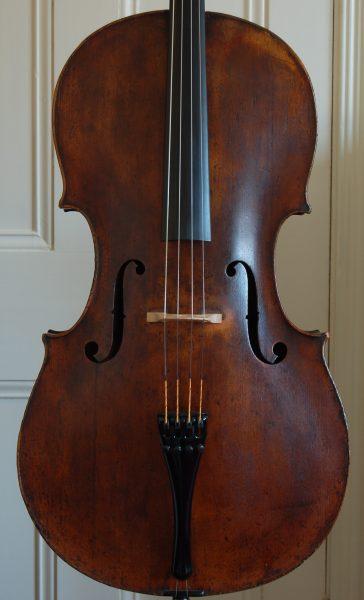 Fine German Cello front