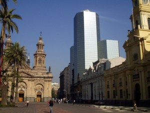 Santiago City Center Skyscraper