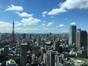 tokyo japan city office toranomon hills