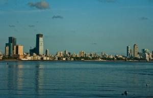 Mumbai Bombay Skyline