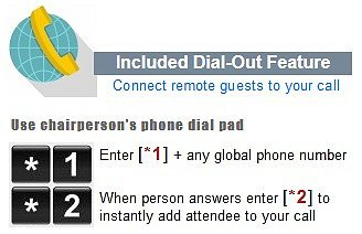 Dial Out Feature