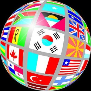 Globe Flag United Flags Nations