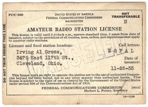 Amateur Radio Station License