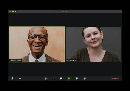 Zoom video call versus Old School Audio Conferencing