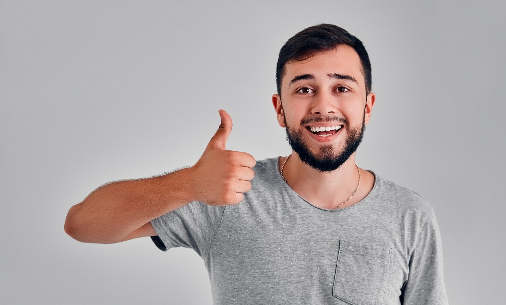 Man with thumbs up   Need for healing   Heal Yourself with Athein Healing