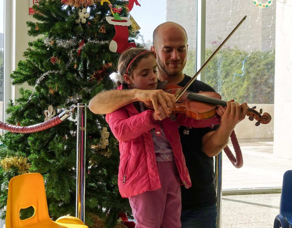 young musicians european orchestra di paolo olmi al caritas baby hospital betlemme
