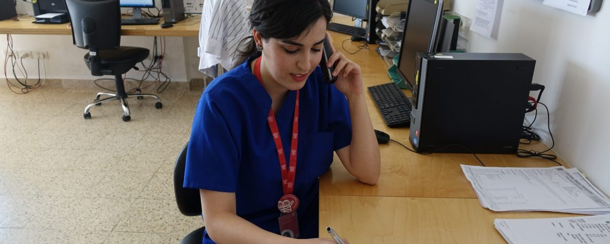assistenza telefonica bambini caritas baby hospital palestina