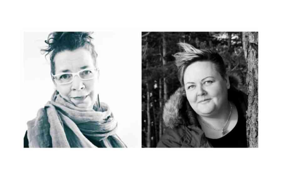Mari Toivonen ja Sonja Lahtinen