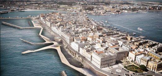 Waterfront Mar Grande project. Port of Taranto