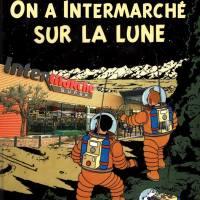 Détournement des albums de Tintin