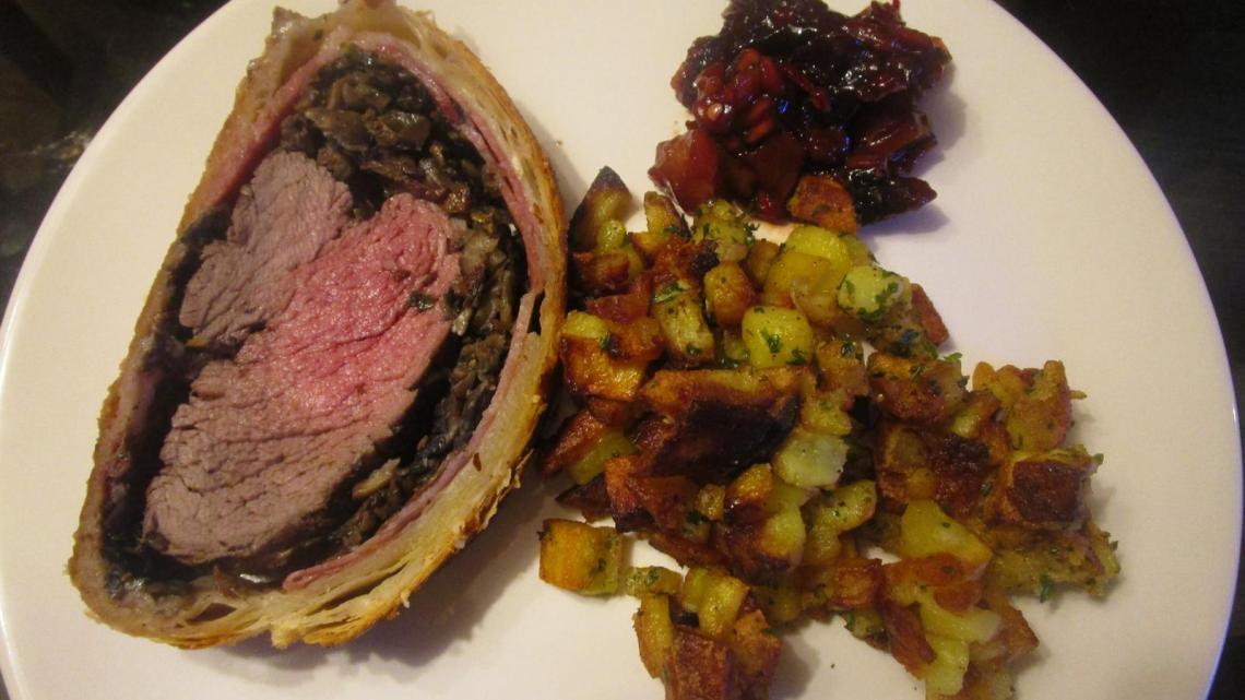 Filet Wellington vom Grill