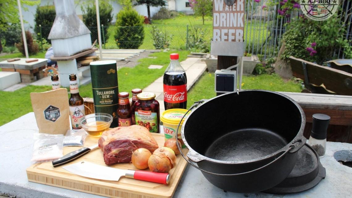 Colafleisch aus dem Dutch Oven