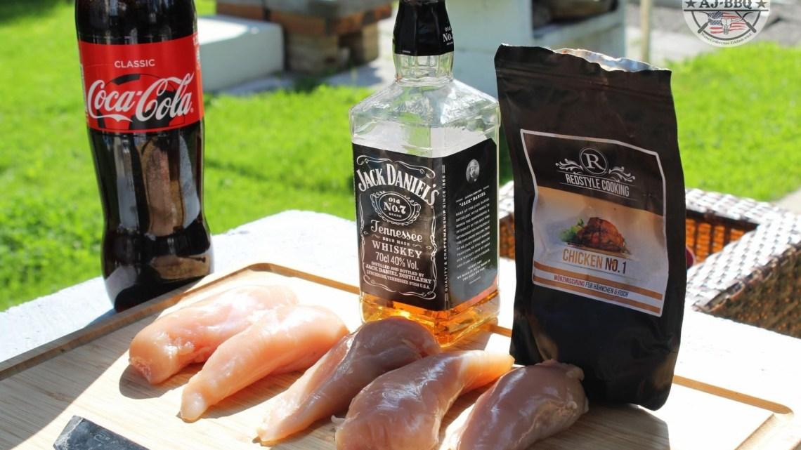 Pulled Chicken 2.0 – mit echtem Jack Daniels