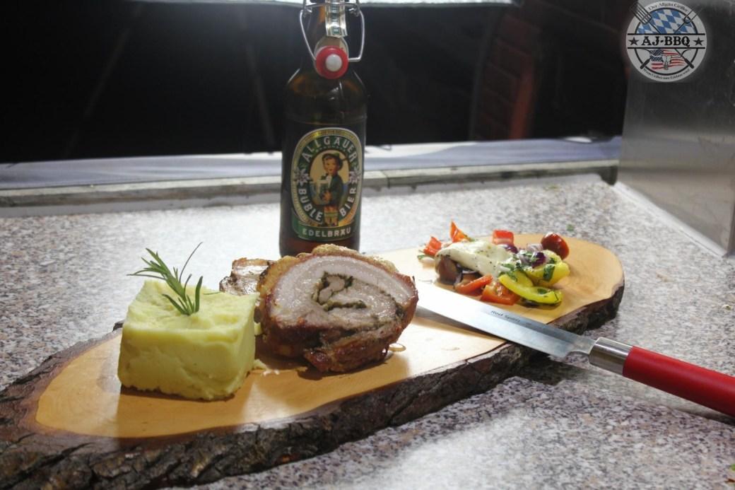 Porchetta von der Moesta-Rotisserie