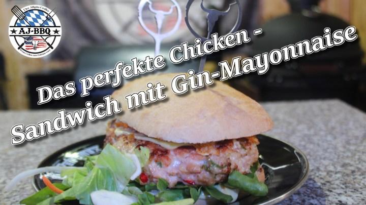 Chickensandwich mit Gin-Mayo