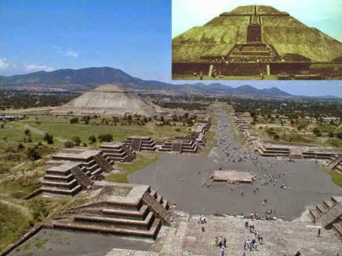 Teotihuacan City of Mexico Mystery, Story, history in Hindi