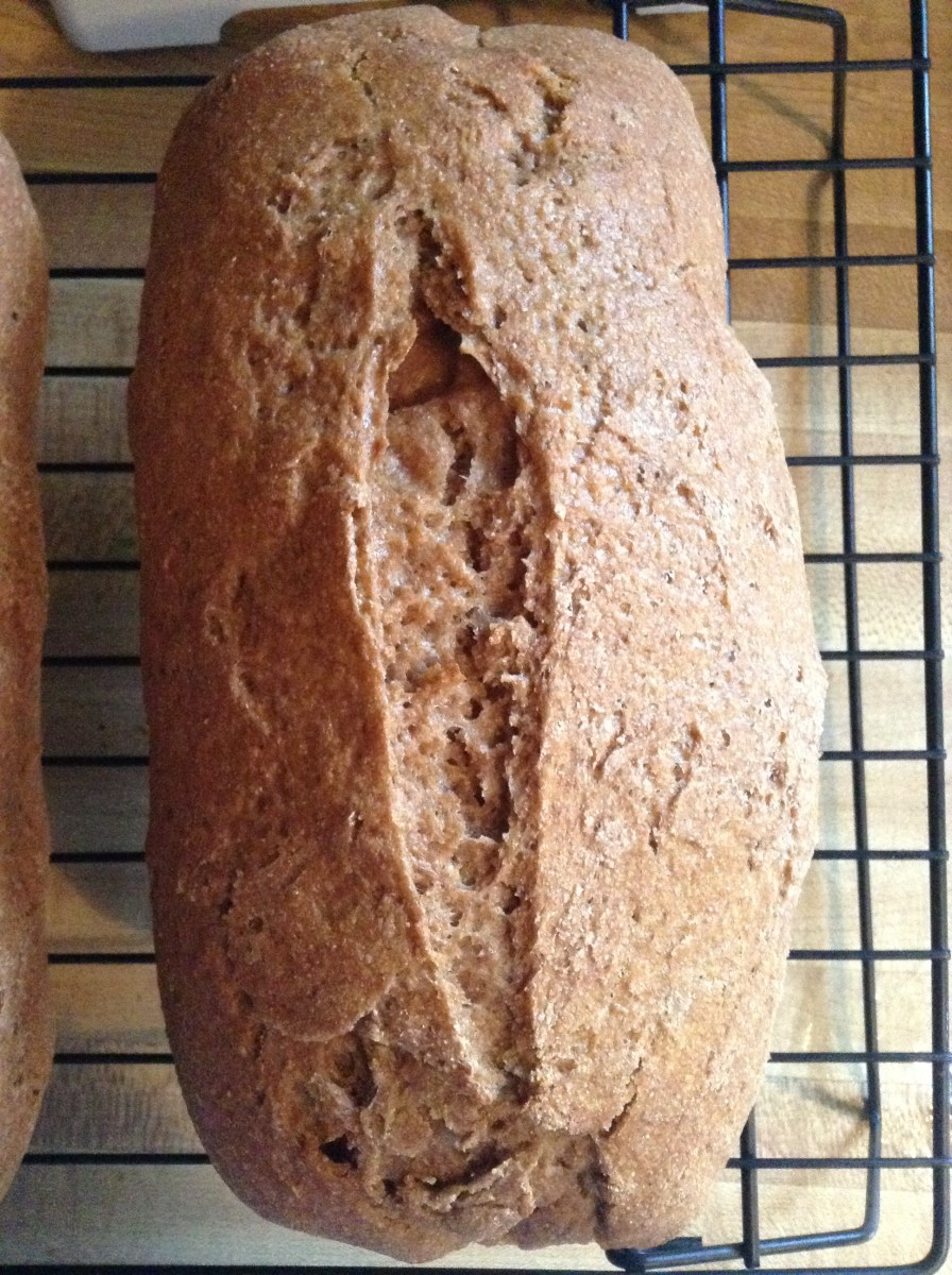 Whole Wheat Sourdough Bread Perfection: Recipe Update
