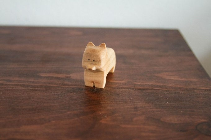 Carving Wooden Animals and Accepting Me
