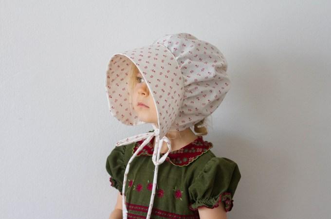 Emily's Pioneer Bonnet