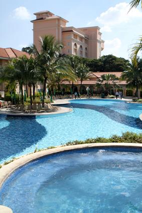 Piscina do Resort Royal Palm