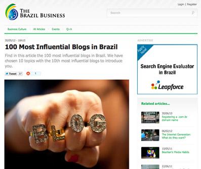 100 blogs influentes