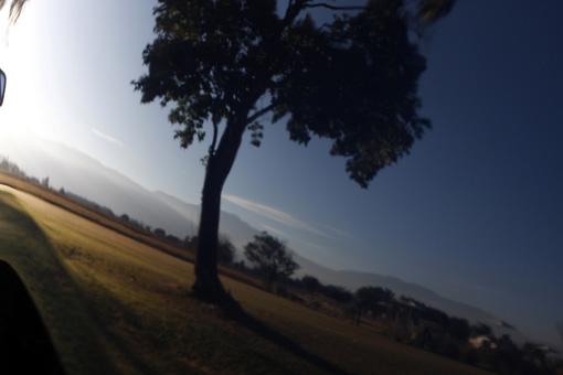 REFLEXO DE PAISAGEM NA RANGER ARGENTINA
