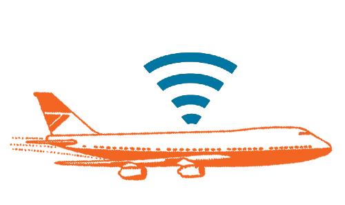 wifi aviao