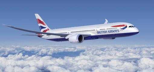 Avião British Airways