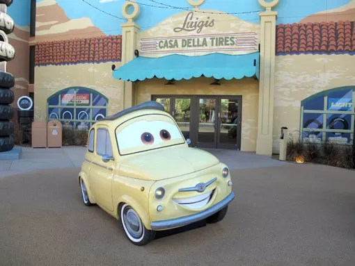 Carros Art of Animation Resort