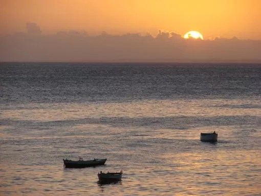 Foto Diego Souza - Blog Poltrona Livre - Bahia - Por do Sol na Barra