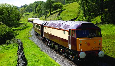 Trem Northern Belle