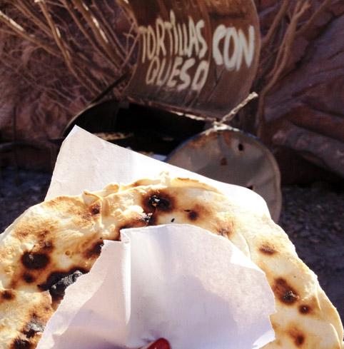 Tortilla com Queso