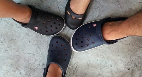 Crocs familia
