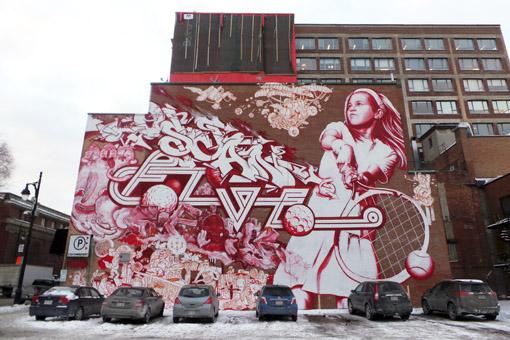 Grafites Montreal 2