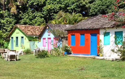 Casas quadrado